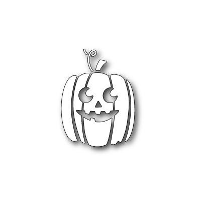 Die Poppystamps - Carved Pumpkin Face