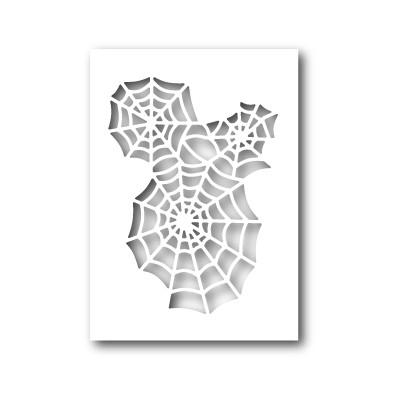 Die Poppystamps - Spider Web Cutout