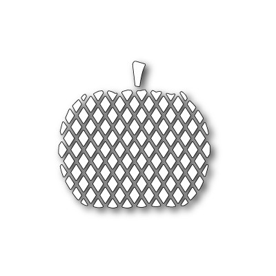Die Poppystamps - Carved Diamond Pumpkin