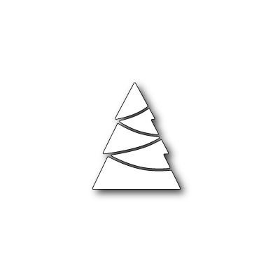 Die Poppystamps - Modern Pieced Tree