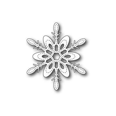 Die Poppystamps - Marais Snowflake