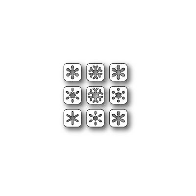 Die Poppystamps - Snowflake Tabs