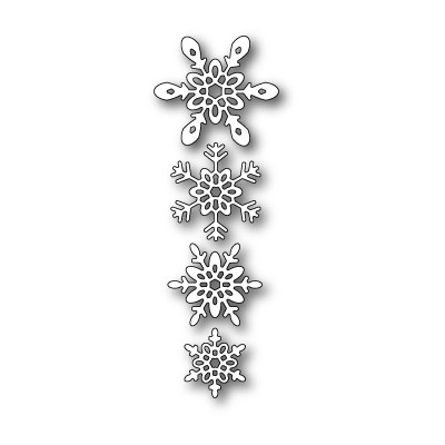Die Poppystamps - Ava Snowflakes