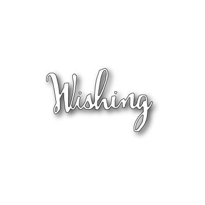 Die Poppystamps - Wishing Script
