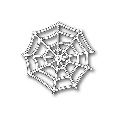 Die Poppystamps - Stitched Cobweb