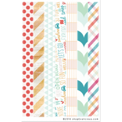 Stickers Evalicious - On Our Way - Washi