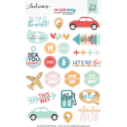 Stickers Evalicious - On Our Way - Scrapbook Element