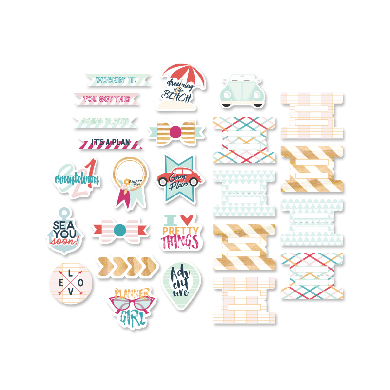 Die-cuts Evalicious - On Our Way - Planner
