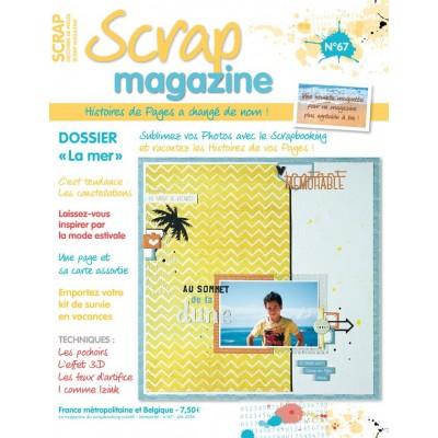 Scrap Magazine N°67 - Été 2016 (ex-Histoires de Pages)