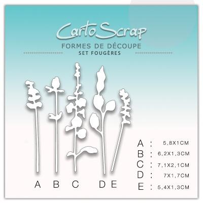 Dies CartoScrap - Set Fougères