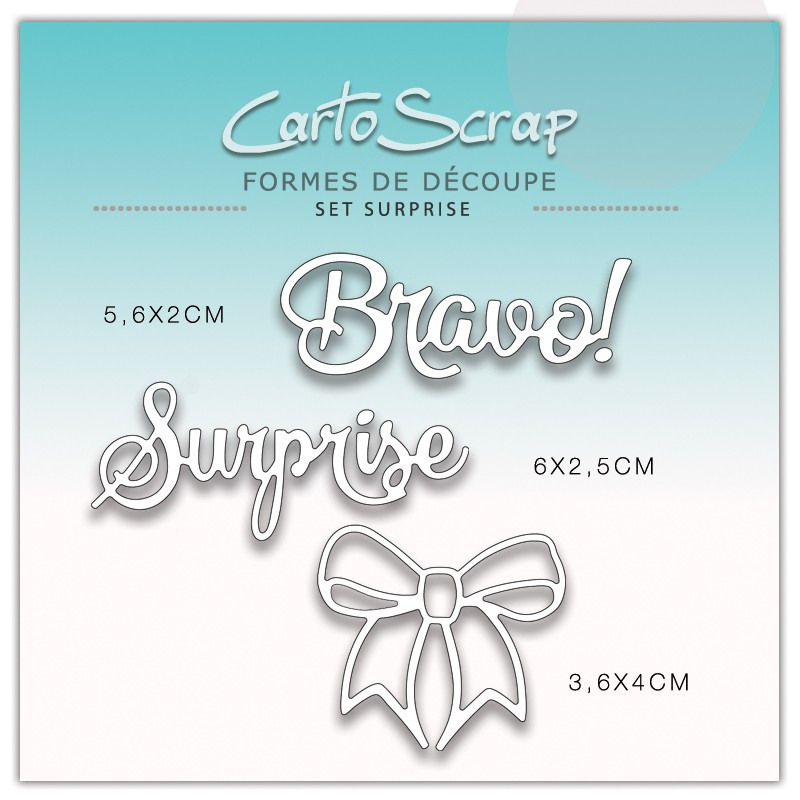 Dies CartoScrap - Set Bravo Surprise