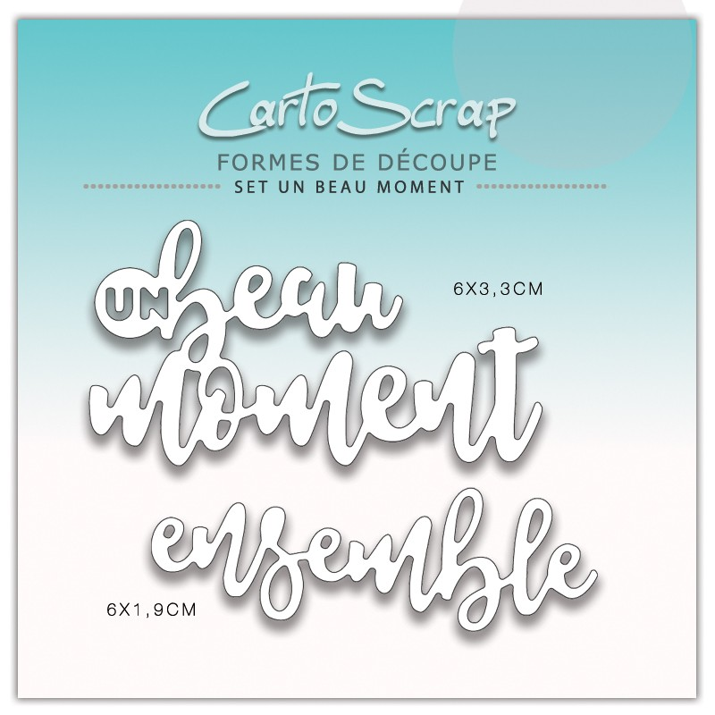 Dies CartoScrap - Set Un Beau Moment