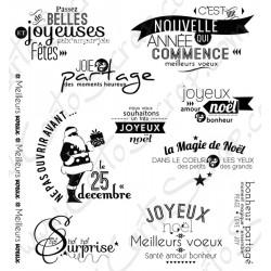 Tampons CartoScrap - La Magie de Noël (Ré-édition)