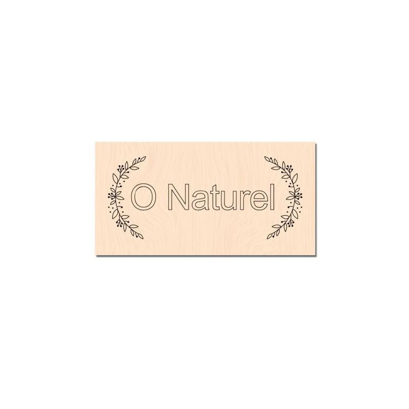 Tampon bois Les Ateliers de Karine - O Naturel