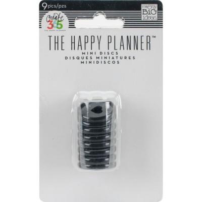 Mini anneaux Happy Planner Create 365 - Noir