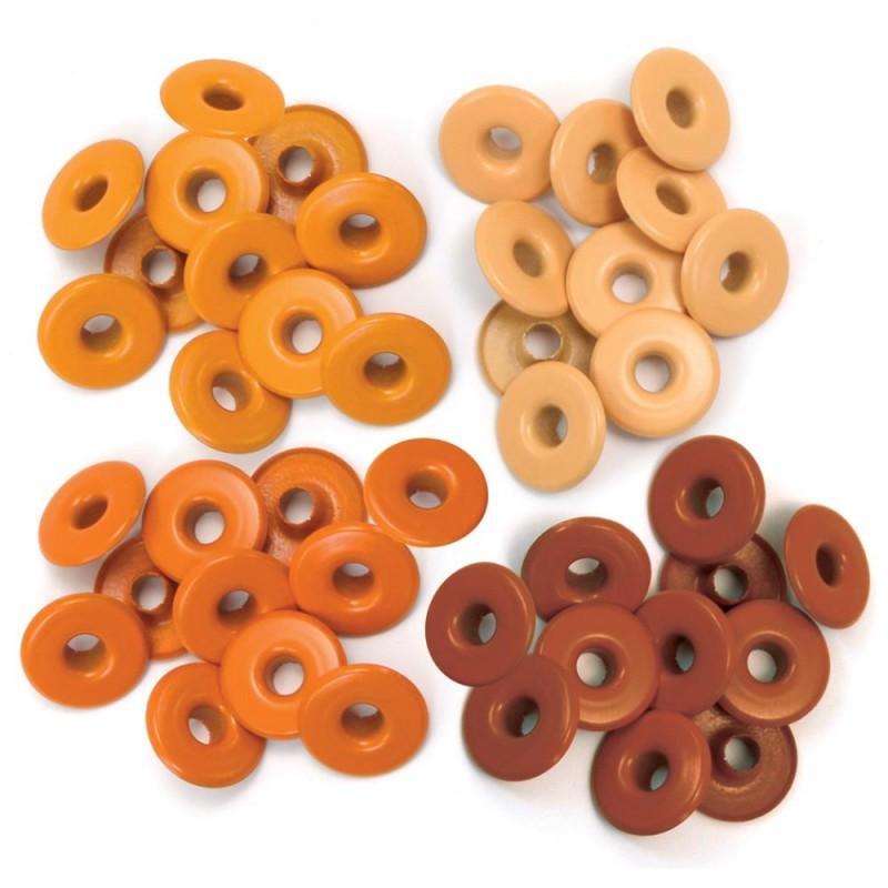 Oeillets larges - Coloris Orange