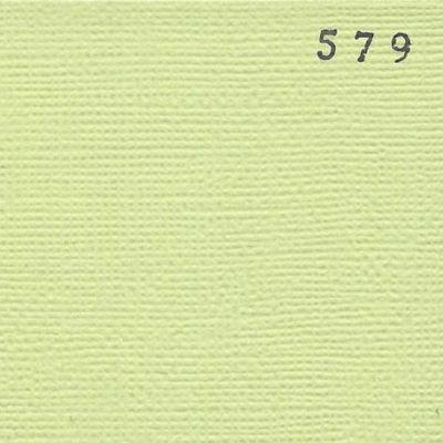 Cardstock texturé canvas - Coloris Vert Tilleul