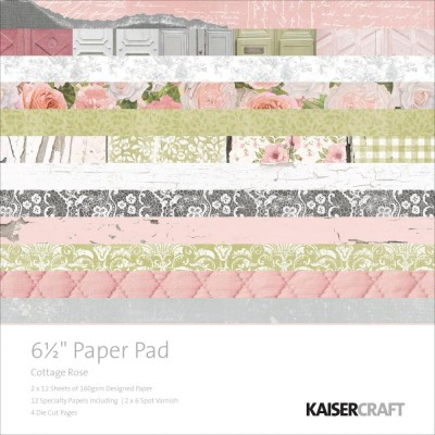 Mini Pack 16.5x16.5 - Kaiser - Cottage Rose