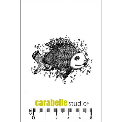Tampons Carabelle Studio - Poisson/Lettres