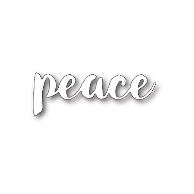 Die Memory Box - Brush Stroke Peace