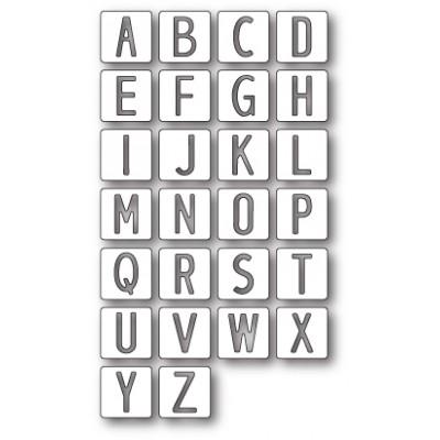 Die Memory Box - Alphabet Tile Letters