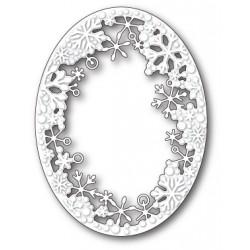 Die Memory Box - Dancing Snowflake Oval