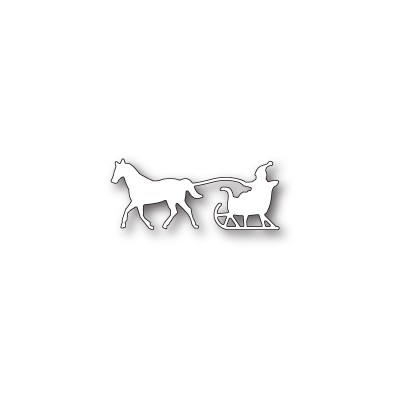 Die Memory Box - One Horse Open Sleigh