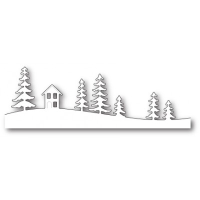 Die Memory Box - Quiet Cabin Landscape
