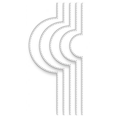 Die Memory Box - Open Studio - Circle Bump Borders