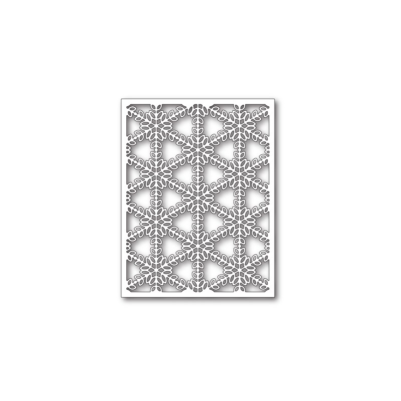 Die Poppystamps - Pickering Snowflake Background