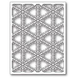 Die Poppystamps - Pickering Snowflake Background