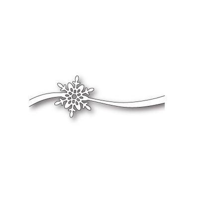 Die Poppystamps - Simple Snowflake Sash