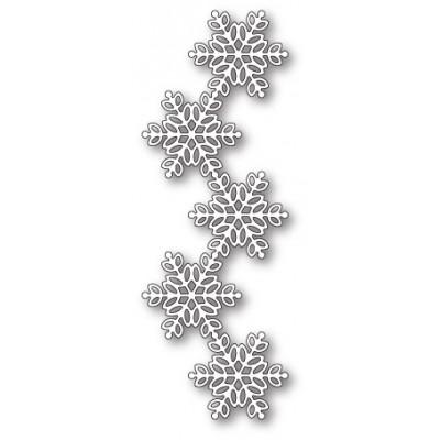 Die Poppystamps - Pickering Snowflake Border