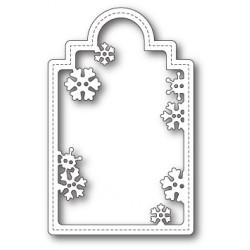 Die Poppystamps - Snowflake Tag