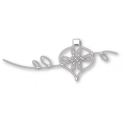 Die Poppystamps - Ribbon Curl Ornament