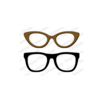 Die Impression Obsession - Large Glasses