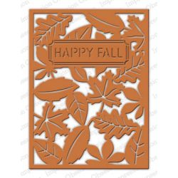 Die Impression Obsession - Fall Leaf Background