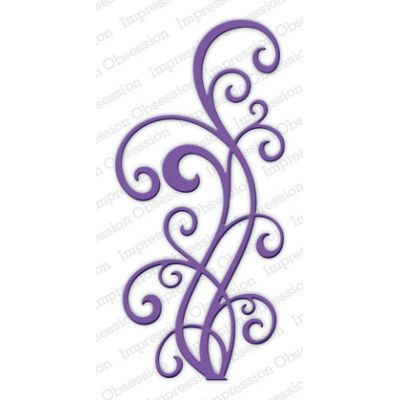 Die Impression Obsession - Large Ornate Flourish