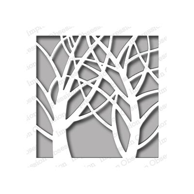 Die Impression Obsession - Square Tree Window