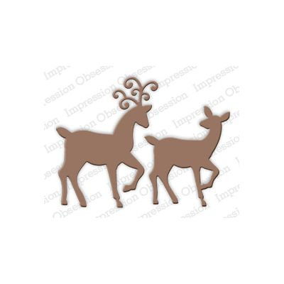 Die Impression Obsession - Deer Pair