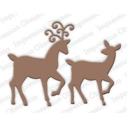 Die Impression Obsession - Deer Pair