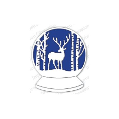 Die Impression Obsession - Deer Snowglobe