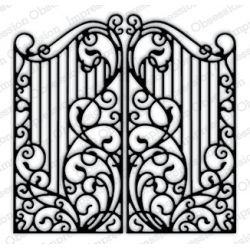 Die Impression Obsession - Wrouhgt Iron Fence