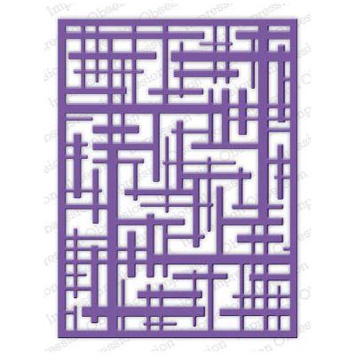 Die Impression Obsession - Geometric Background