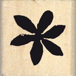 Tampon bois Florilèges - Hello Watercolor - Petite fleur étoilée