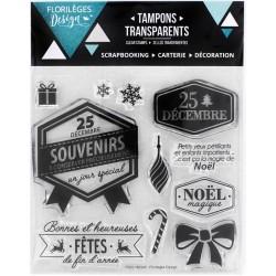 Tampons Sweety Clear Florilèges - Heureuses Fêtes