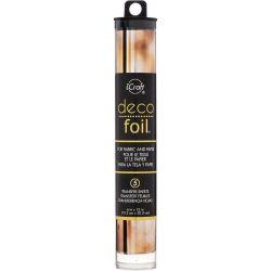 Deco Foil - Feuilles transfert métallisées - Aquarelle Ambre