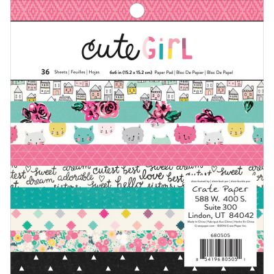 Mini Pack 15x15 - Crate Paper - Cute Girl