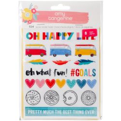 Stickers Amy Tangerine - Oh Happy Life
