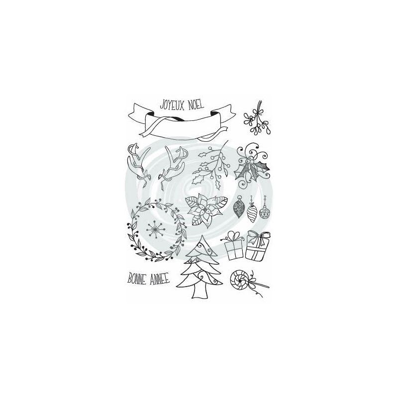 Tampons DIY&Cie - Mix'Créatif - Noël